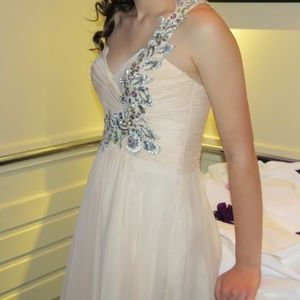 One Shoulder Prom Dress by Night Moves